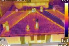 termografia facciata edificio